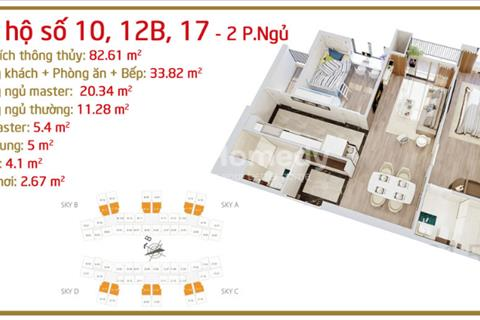 Bán căn số 14 2 PN tòa D dự án Imperia đối diện Times City, chiết khấu đến 4,5%, tặng gói quà 50 tr