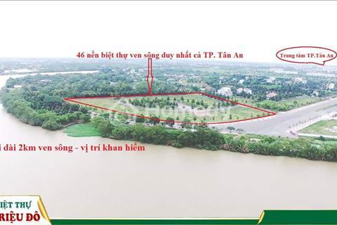 Làng biệt thự Phú Hoàng Gia – được quy hoạch là khu Phú Mỹ Hưng của Tân An – chỉ 15 triệu/m2