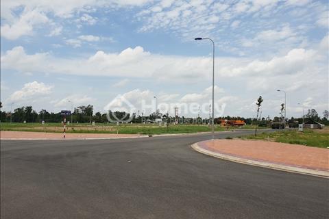 Bán nền đối diện trường mầm non, công viên, 81m2, lộ nhựa 12m, 660 triệu