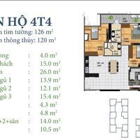 Bán căn số 4 tầng 25, tòa N03-T4 Ngoại Giao Đoàn