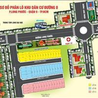 Cần tiền bán gấp lô đất đường số 8 Long Phước gần chợ, trường học, trạm y tế, cầu Long Đại