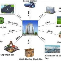 Chính chủ cần bán căn thương mại 1612 tại dự án CT2A Thạch Bàn - Long BIên giá 19 triệu/m2