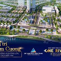 Đất Xanh Nam Miền Trung ra mắt mở bán siêu dự án One River Villas giai đoạn 1