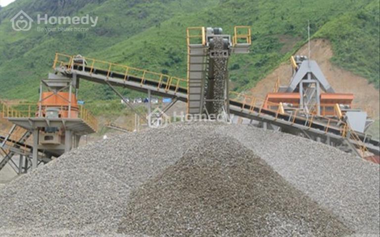 Chuyển nhượng mỏ đá xây dựng đang kinh doanh tốt ở huyện Nghĩa Đàn- Nghệ An