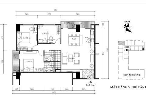 Bán căn góc 3 phòng ngủ 103m2 tại Vũ Tông Phan, vào ở luôn