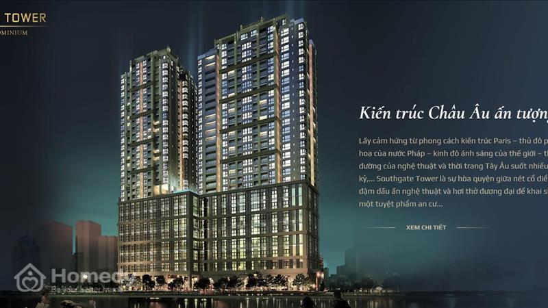 Dự án Officetel South Gate Tower TP Hồ Chí Minh - ảnh giới thiệu