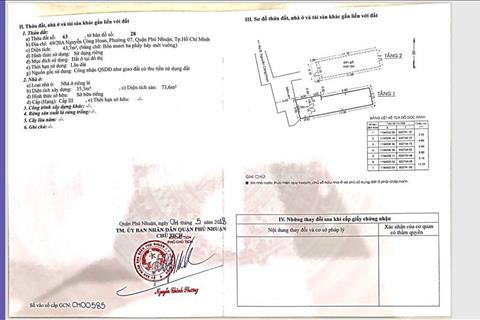 Nhà chính chủ 44m2 bán gấp, trung tâm Phú Nhuận, giá cực thấp