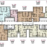 Cần bán lại 2 căn góc 4 phòng ngủ, 136m2, view Hồ Tây cực đẹp, 1202-M1 và 2510-M3, giá 10 tỷ