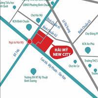 Đất nền mặt tiền Thủ Khoa Huân, chợ Hài Mỹ, Thuận An, Bình Dương, 900 triệu, thổ cư 100% sổ riêng