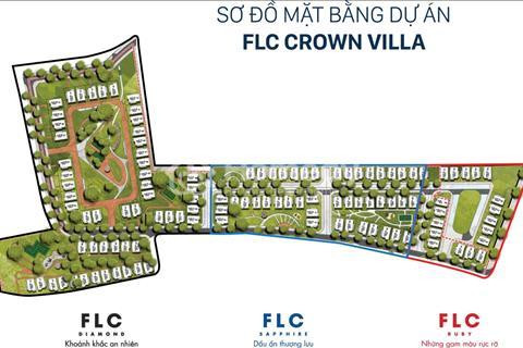 Chính chủ cần vốn, bán gấp 2 lô biệt thự FLC Crown Villa thấp hơn chủ đầu tư 300 triệu