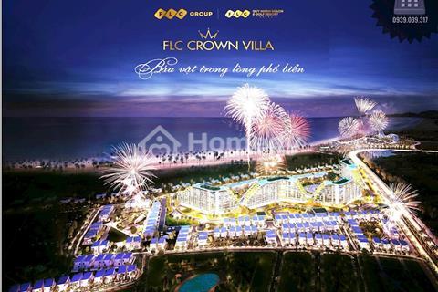 Đất nền biệt thự 216m2 sát biển Crown Villa FLC Quy Nhơn Resort 5 sao chiết khấu 8% và 50 triệu