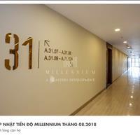 Đợt mở bán văn phòng cao cấp Millennium Bến Vân Đồn, 2,2 tỷ/căn, CK 8%, view Bitexco, sổ lâu dài