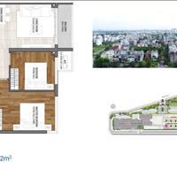Bán căn hộ Quận 2, 55-109m2, 1-3 phòng ngủ, thanh toán 50% nhận nhà, CĐT Singapore, từ 70 triệu/m2