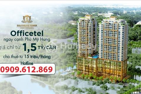 Cơ hội đầu tư căn hộ văn phòng mặt tiền Nguyễn Thị Thập - Vốn ban đầu chỉ 400tr cho thuê 14tr/tháng