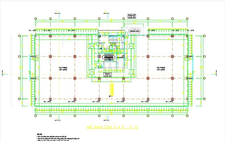 BQL cho thuê sàn thương mại và văn phòng tòa nhà văn phòng CIC -219 Trung Kinh