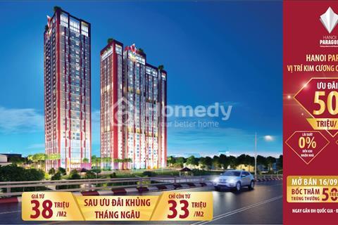 Ngày 16/09/2018 mở bán chung cư Hà Nội Paragon - Bùng nổ ưu đãi lớn