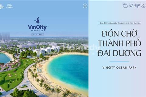 Háo hức với siêu dự án biển hồ cát nhân tạo 6,1ha tại Vincity Ocean Park Gia Lâm