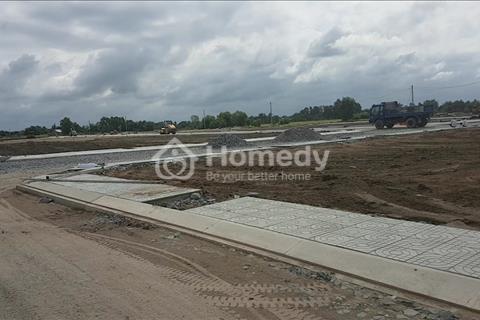 Đất mặt tiền đường 25m, chỉ 7 triệu/m2, sổ hồng riêng, tặng vàng ngày mở bán