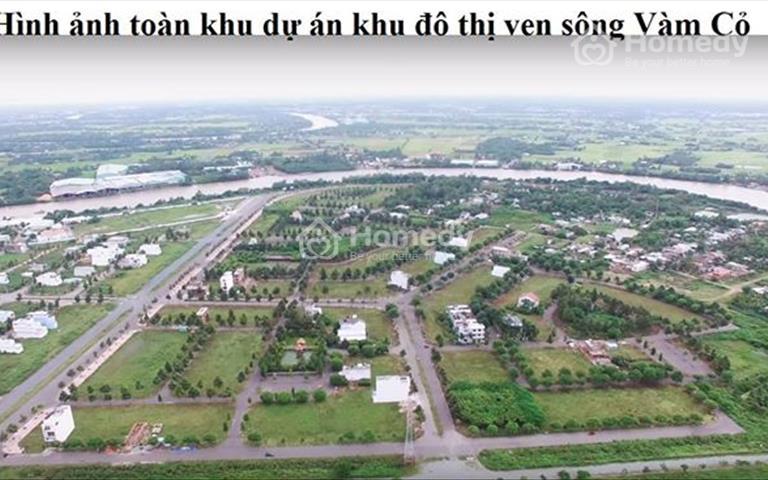Bán đất thành phố Tân An, đối diện trụ sở công an tỉnh