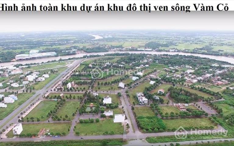 Cần bán đất nền biệt thự ven sông Vàm Cỏ thành phố Tân An