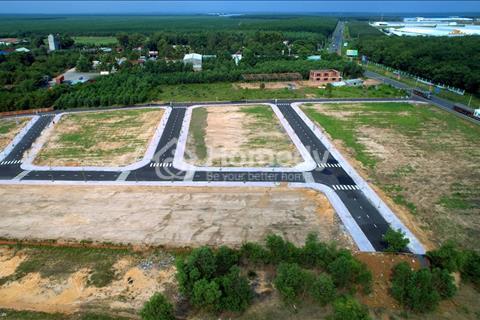 Đất nền khu dân cư An Thắng Phước Lâm 1, ngân hàng Sacombank hỗ trợ 50%, sổ đỏ từng nền