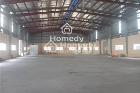 Cho thuê kho xưởng 3750m2 mặt tiền đường Hồ Học Lãm có văn phòng, sân đậu xe, trạm hạ thế