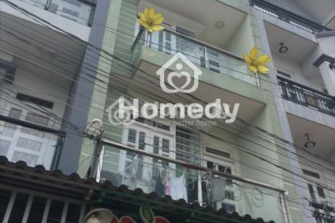 Nhà cho thuê mới sơn sửa hẻm rộng 8m, đường Bà Hom, phường 14, quận 6