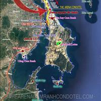 Căn hộ khách sạn, 1 phòng ngủ, 39m2, dự án The Arena Cam Ranh