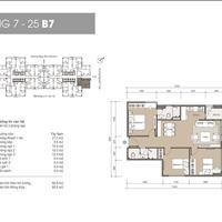Cắt lỗ cực khủng căn hộ 3 phòng ngủ 85.5m2 mặt góc đẹp nhất dự án The Legend 109 Nguyễn Tuân