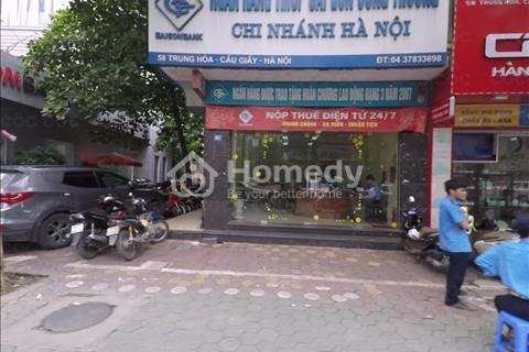 Cho thuê nhà mặt phố Quang Trung 1700m2 x 3 tầng, mặt tiền 8m, giá 120 triệu/tháng