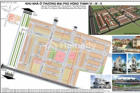 Đất đẹp Phú Hồng Thịnh 9, 2 mặt tiền đường và trung tâm thương mại