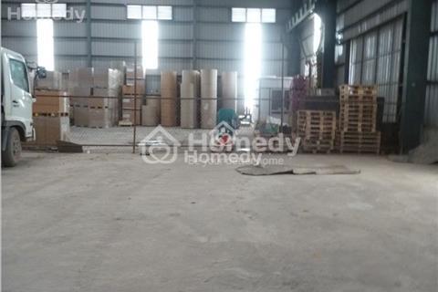 Cho thuê kho xưởng 7000m2 khung zamil tại Biên Giang - Hà Đông (có thể chia nhỏ)