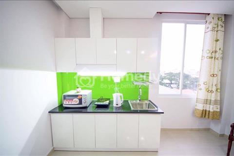 Cho thuê căn hộ dịch vụ đầy đủ nội thất thoáng mát văn minh Cách Mạng Tháng Tám Quận 10, 45m2
