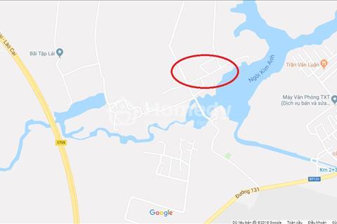 Bán đất bên hồ thôn Trại Mít, xã Hiền Ninh, huyện Sóc Sơn