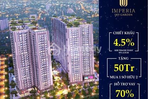 Cần bán căn hộ 2 phòng ngủ, tại dự án Imperia Sky Garden 423 Minh Khai, đối diện Times City