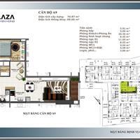 Bán căn hộ trung tâm Gò Vấp, 74,87m2, 2 phòng ngủ, 2WC, thanh toán 40%, trả góp 0% lãi suất