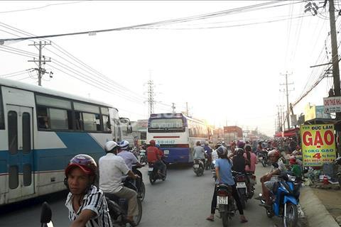 Thanh lý 4 lô đất mặt tiền chợ tỉnh lộ 10, Bình Chánh, giá 640 triệu