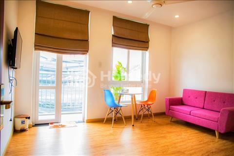 Căn hộ 1 phòng ngủ 1 phòng khách 45m2 gần sân bay, có ban công cửa sổ thoáng mát Cửu Long, Tân Bình