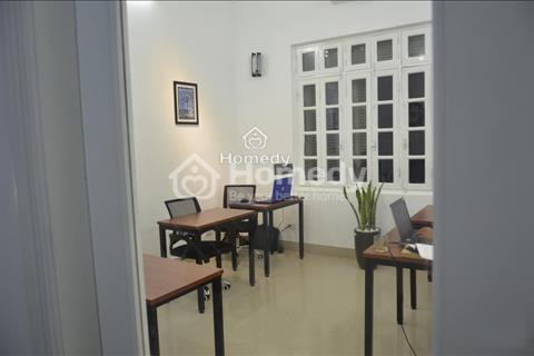 Cho thuê văn phòng Cầu Giấy cạnh đường Trần Duy Hưng, đầy đủ bàn ghế