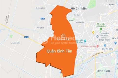 Cho thuê nhà mặt tiền đường Võ Văn Kiệt, Bình Tân