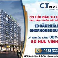 Bán căn hộ cao cấp CT Plaza Nguyên Hồng trung tâm 4 quận - Bình Thạnh - Phú Nhuận - Tân Bình