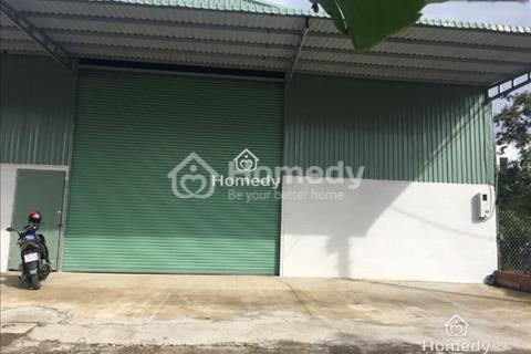 Cho thuê nhà xưởng đường Thạnh Lộc 49, Quận 12, 600m2, 30 triệu/tháng