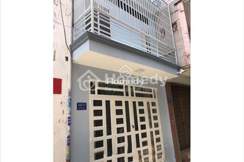 Cho thuê nhà hẻm 6m đường Gò Dầu, 3,3x20m, đúc 1 lầu, 3 phòng ngủ, 2WC mới 100%