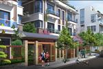Phân khu cuối là nhà liền kề, nhà vườn với 38 căn với chiều cao 4 tầng nằm dọc đường nội khu rộng 16m với mặt tiền thuật tiện cho các phương tiện đi lại.