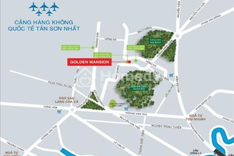 Căn hộ Novaland đường Phổ Quang, 3 phòng ngủ, 99m2, căn góc, tầng cao - 4 tỷ - Golden Mansion