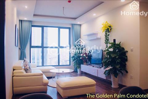 Cho thuê căn hộ Golden Palm, 110m2, full nội thất, giá chỉ 20 triệu/tháng