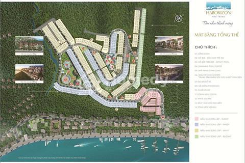 Sở hữu ngay đất nền biệt thự Haborizon 100% view hướng biển, ngắm trọn vịnh vàng Nha Trang