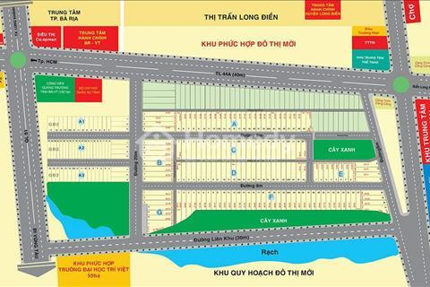 Đất trung tâm hành chính Bà Rịa – Vũng Tàu 6 triệu/m2