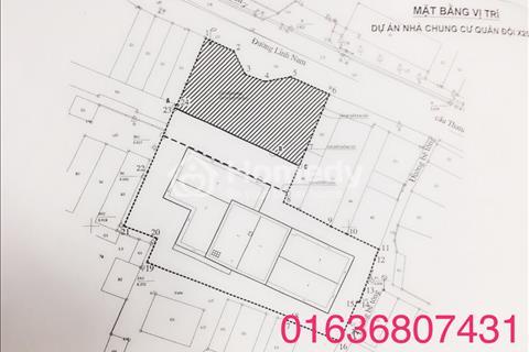Bán căn 3 phòng ngủ, 2 nhà vệ sinh - mặt đường Lĩnh Nam - dự án chung cư Quân đội X203