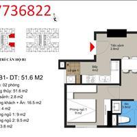 Chính chủ gửi bán căn hộ chung cư Hateco Xuân Phương 1,3 tỷ, 2 phòng ngủ